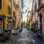 Italie-Rome-trastevere