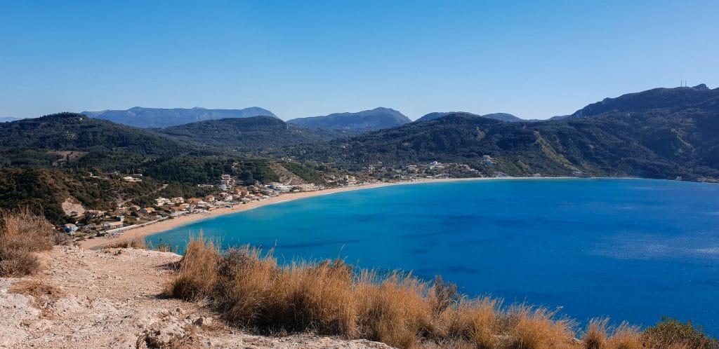 Grece-corfou-plage-porto-timoni-goyav