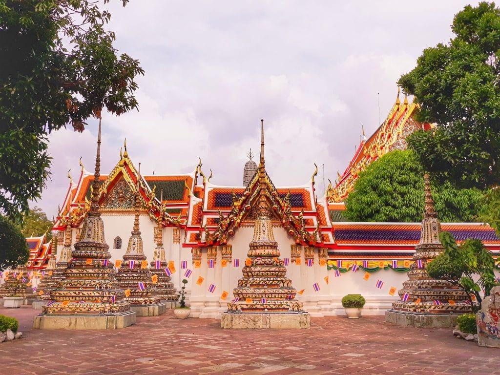 temple bangkok thailande