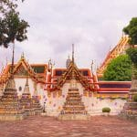 tuk tuk temple bangkok thailande
