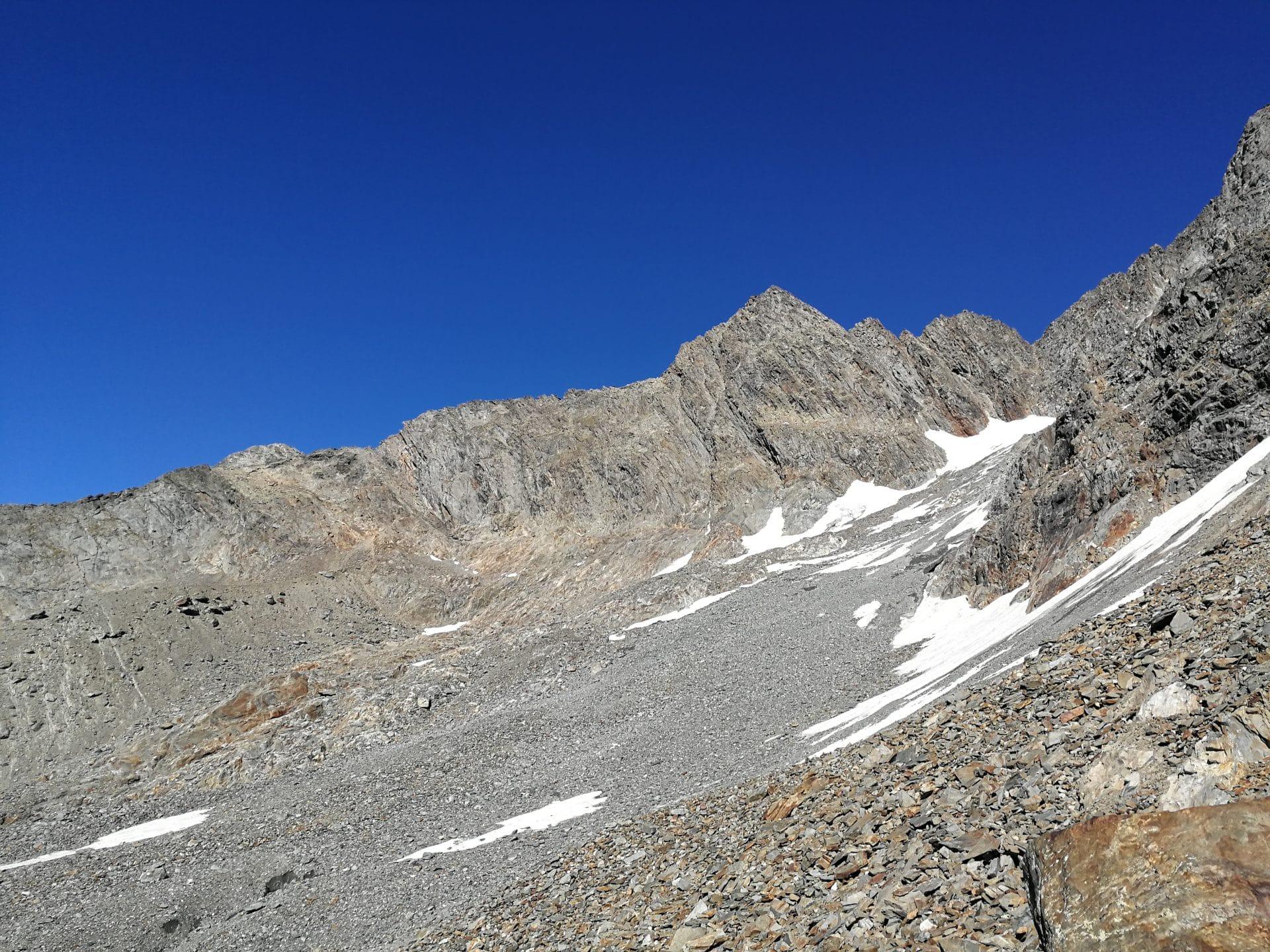 randonnée refuge plan glacier