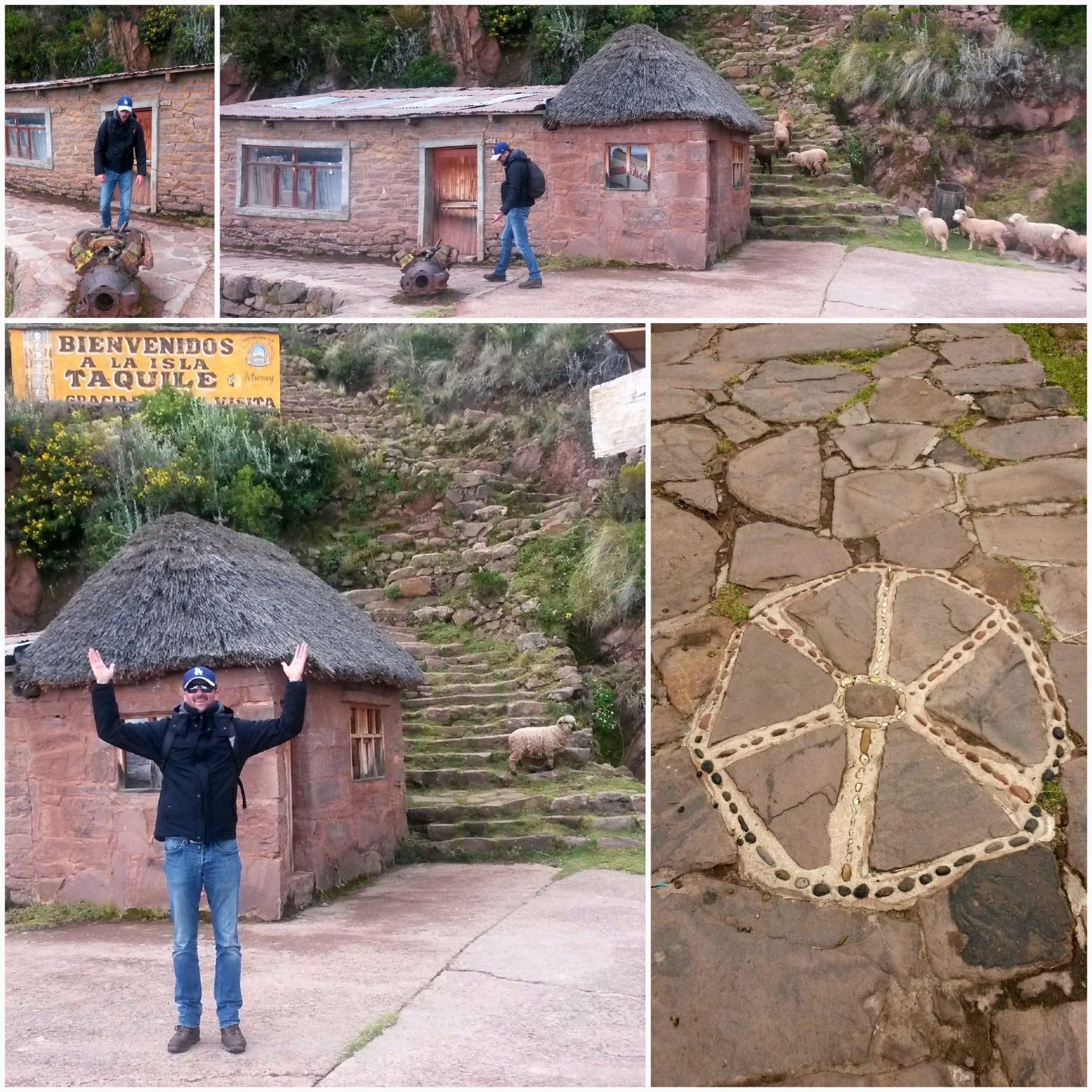 bienvenue sur l'île de Taquile