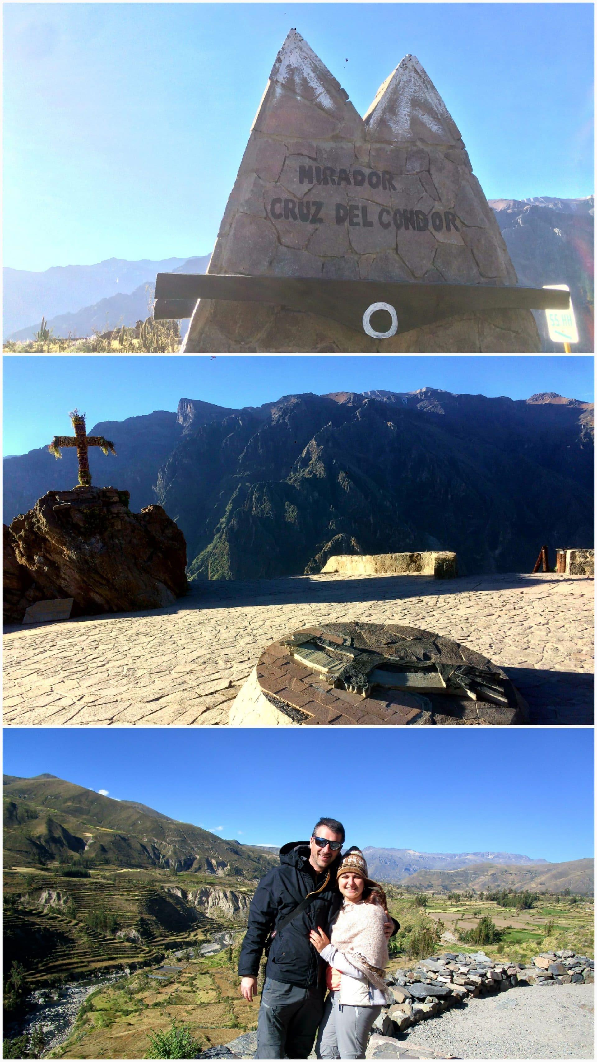 Croix du condor au canyon de colca