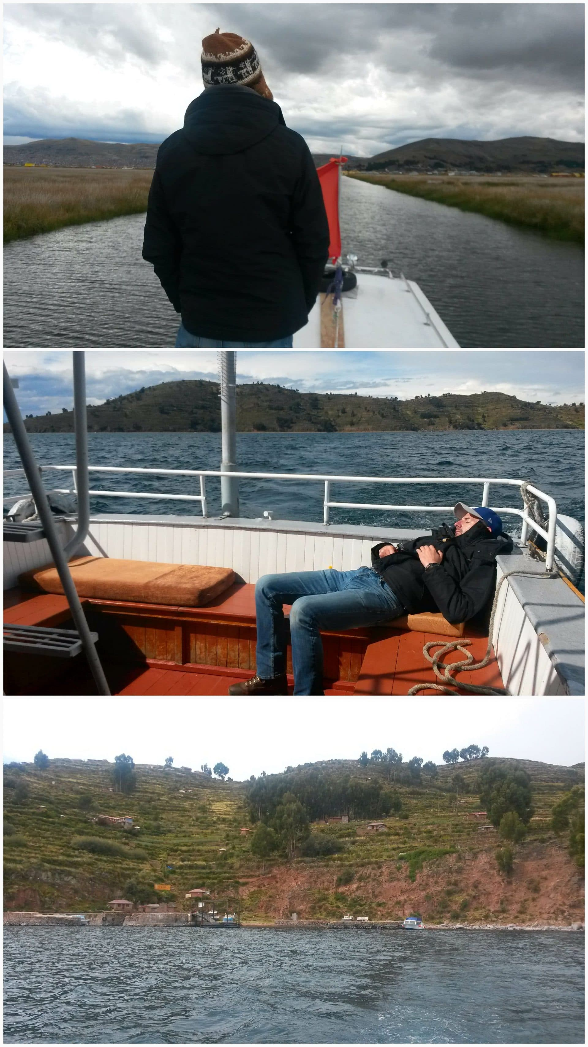 traversée lac titicaca