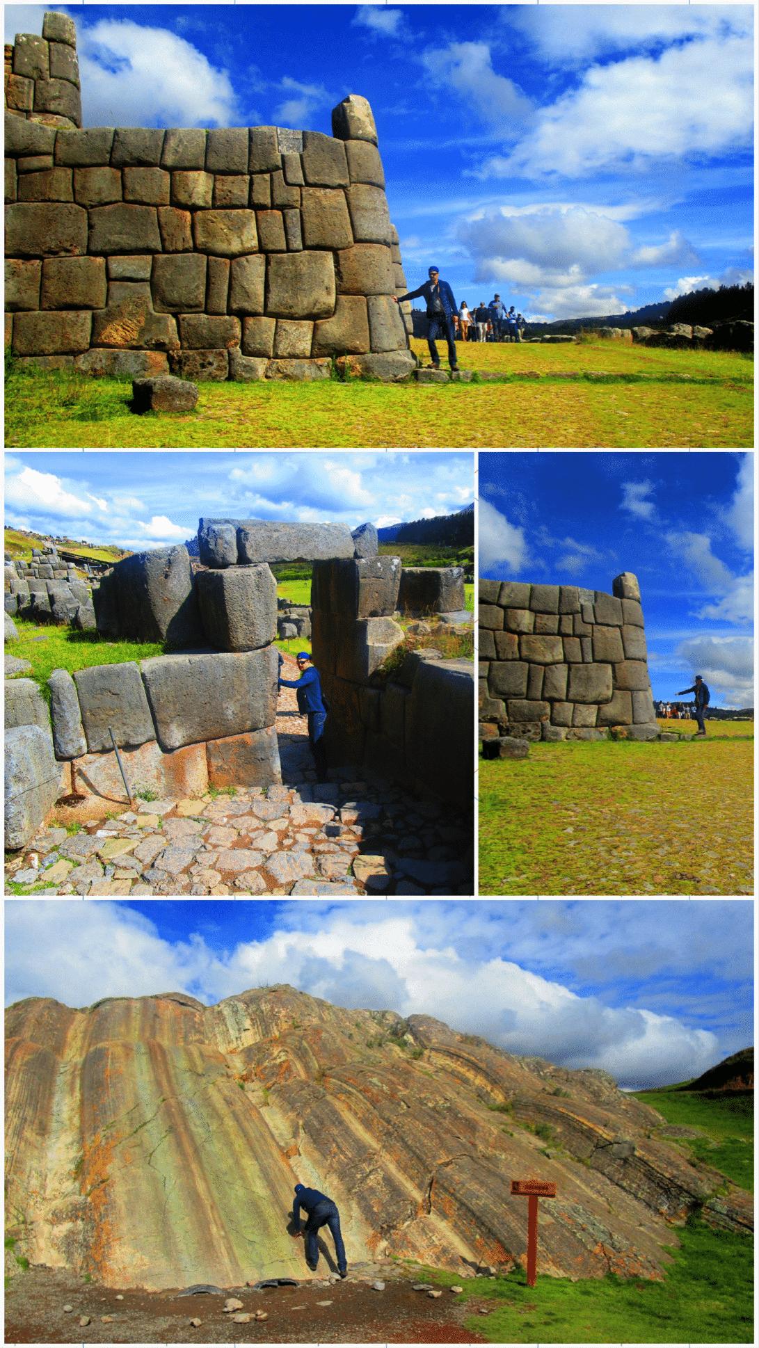 Visite de Sacsayhuaman roadtrip au pérou