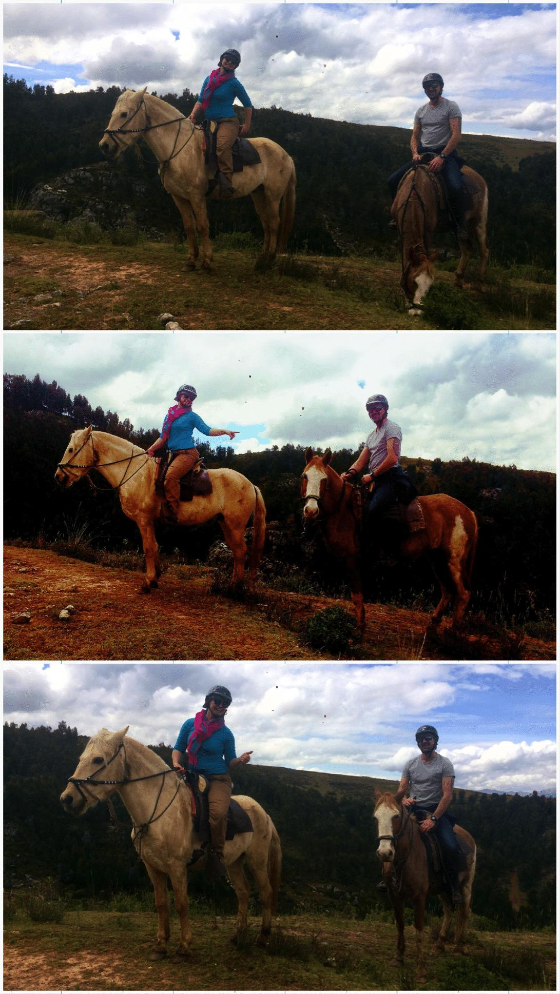 roadtrip au pérou balade à cheval cusco