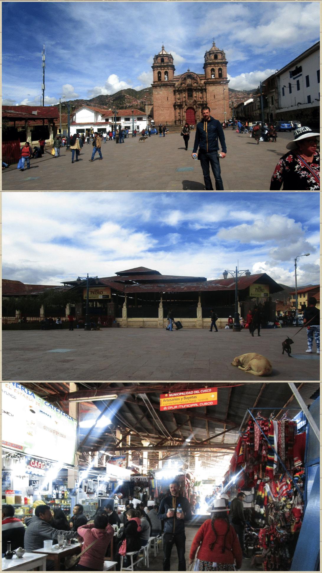 marché couvert de San Pedro roadtrip au pérou