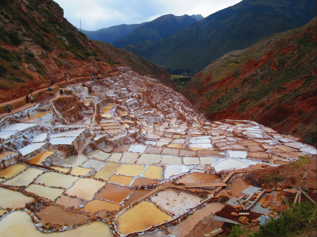village typique de Maras cordillère