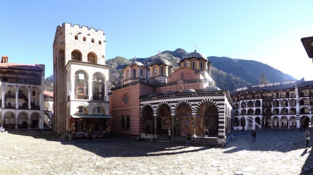 Bulgarie : une nuit au Monastère de Rila (Rilski Monastir)
