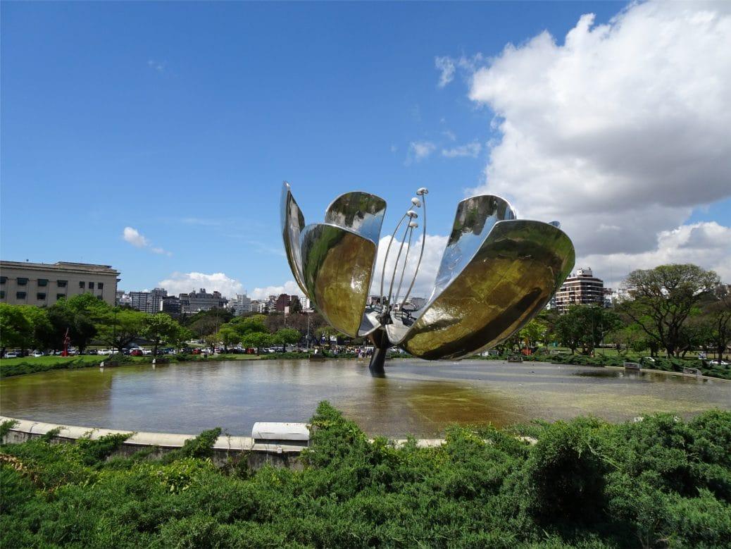 Voyage à Buenos Aires floralis generica