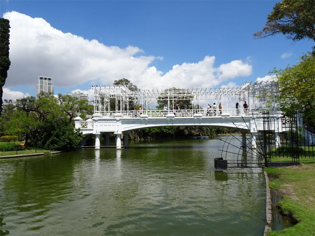 parque tres de febrero Voyage à Buenos Aires