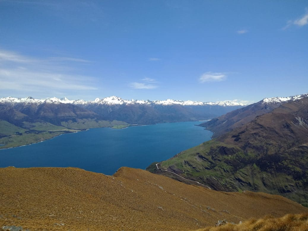 Isthmus Peak track, Nouvelle Zélande