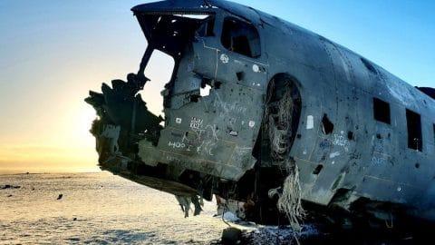 Prochain arrêt : un crash d'avion en Islande