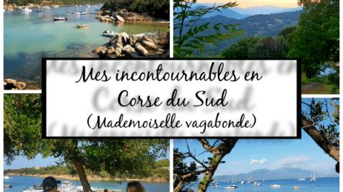 MES INCONTOURNABLES EN CORSE DU SUD