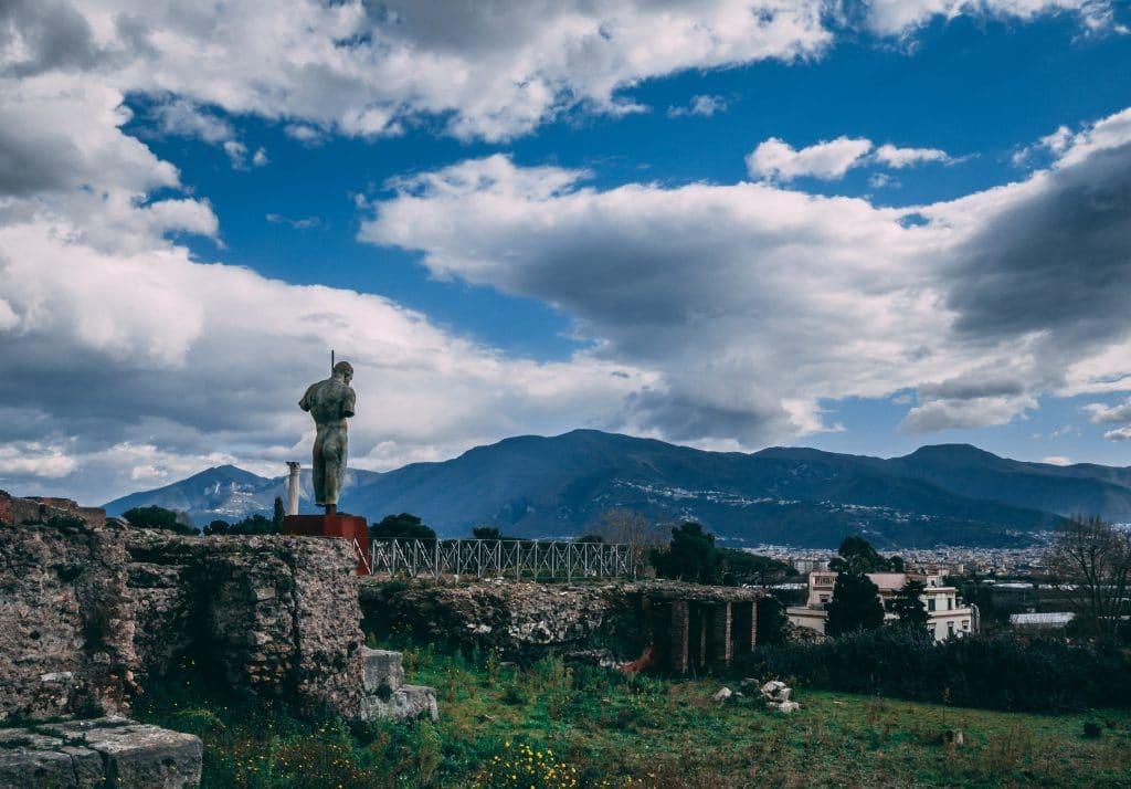 Pompeii, un site chargé d'histoire