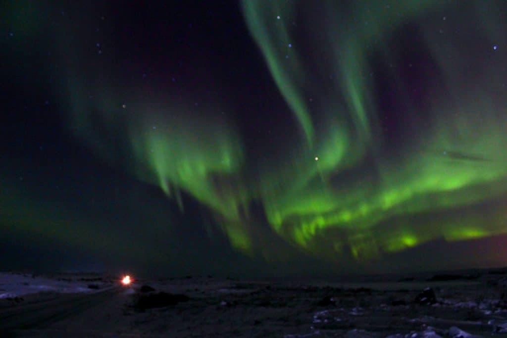 À la recherche d'une aurore boréale