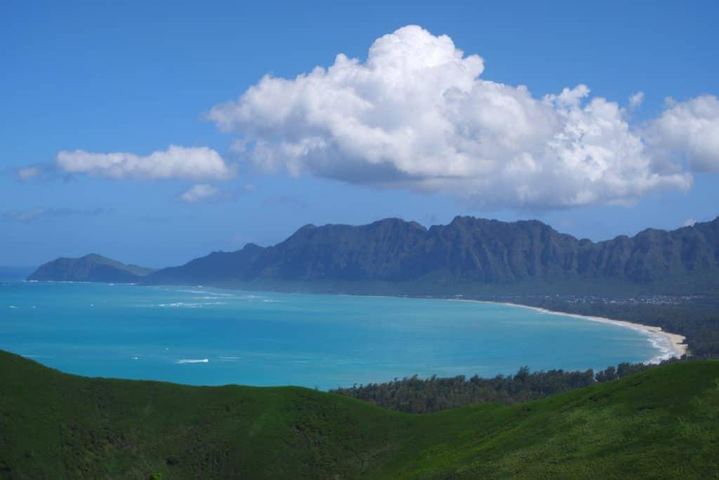 panorama Lanikai, Oahu, Hawaii