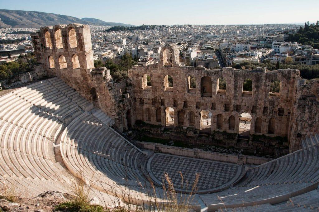 L'Odéon d'Hérode Atticus, Athènes