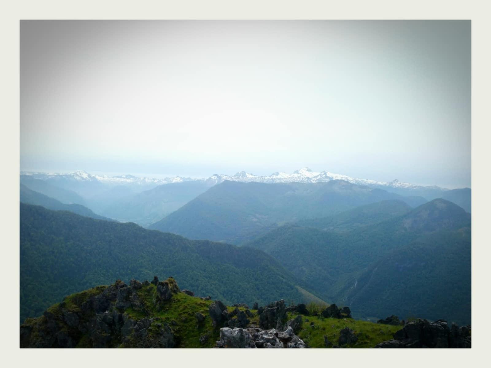 panorama vallée d'aspe