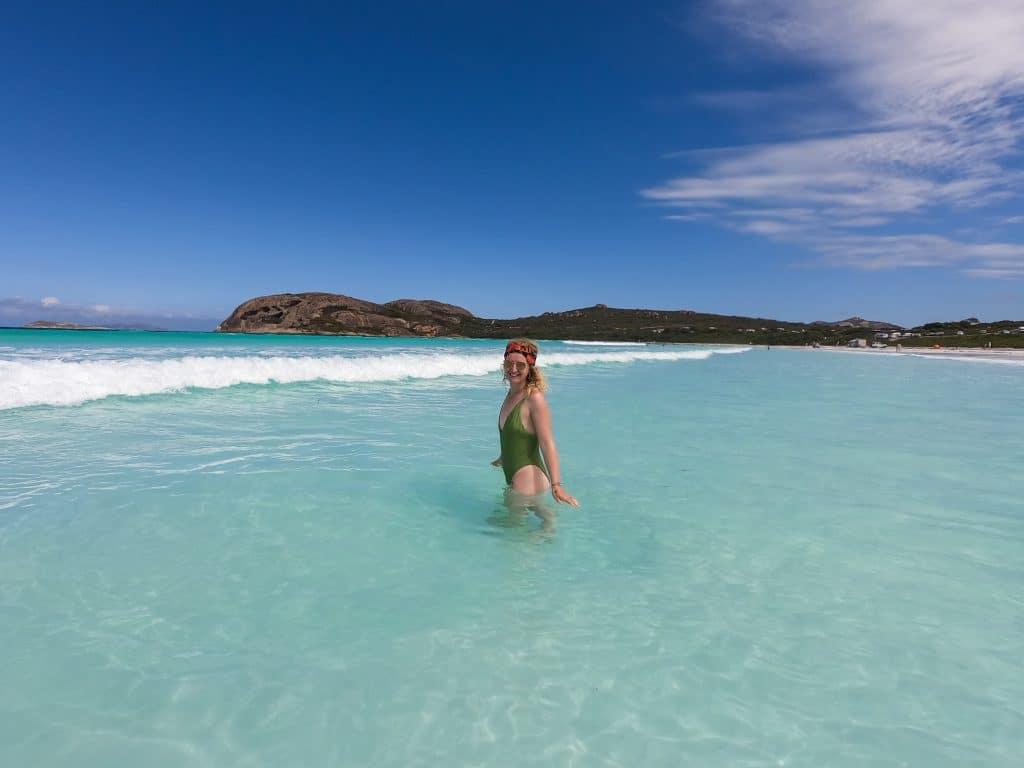 Lucky bay, Australie
