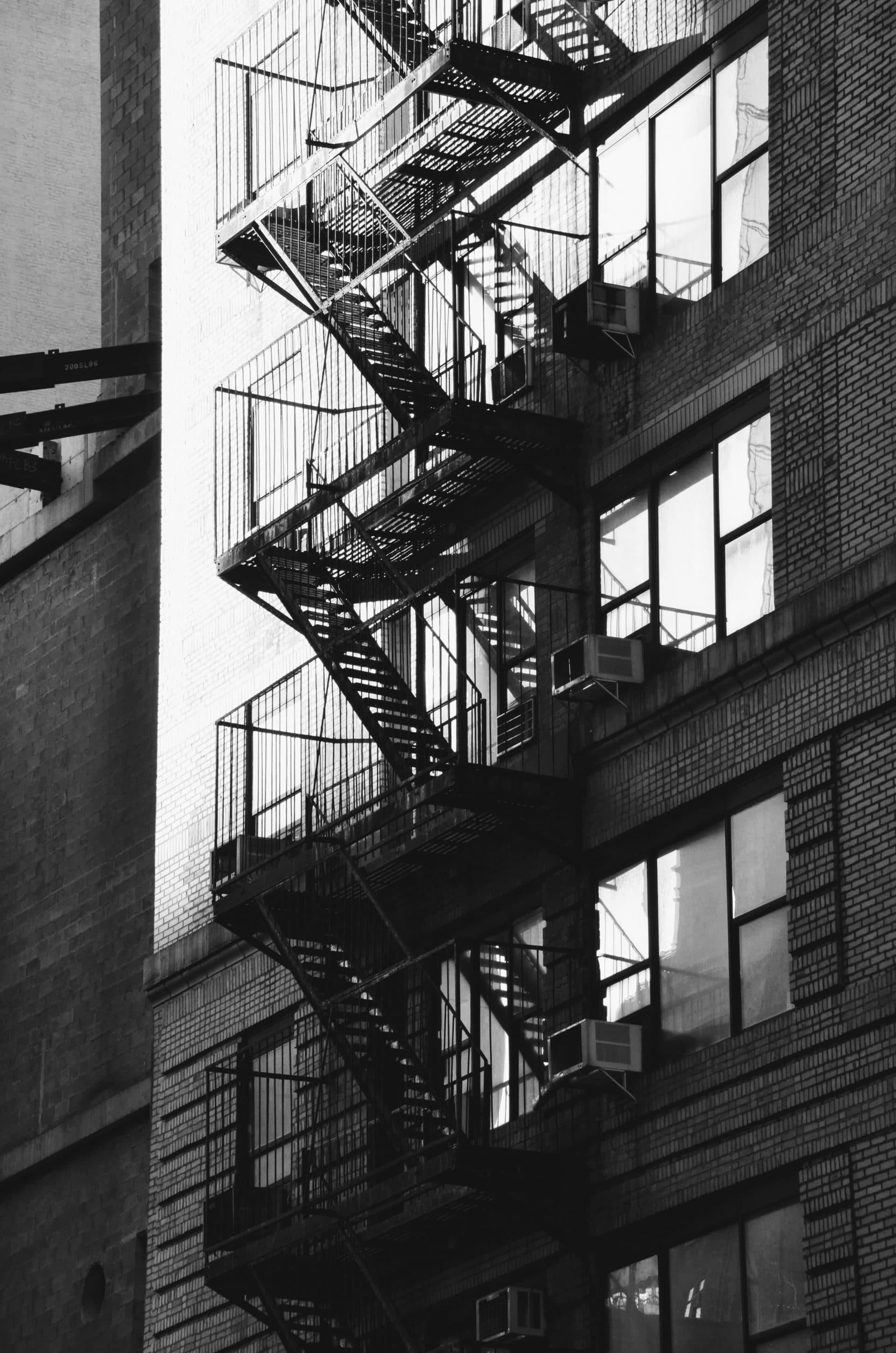 Les escaliers les plus connus du cinéma lors d'un week end à New York