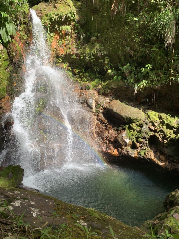Gourbeyre cascade parabole