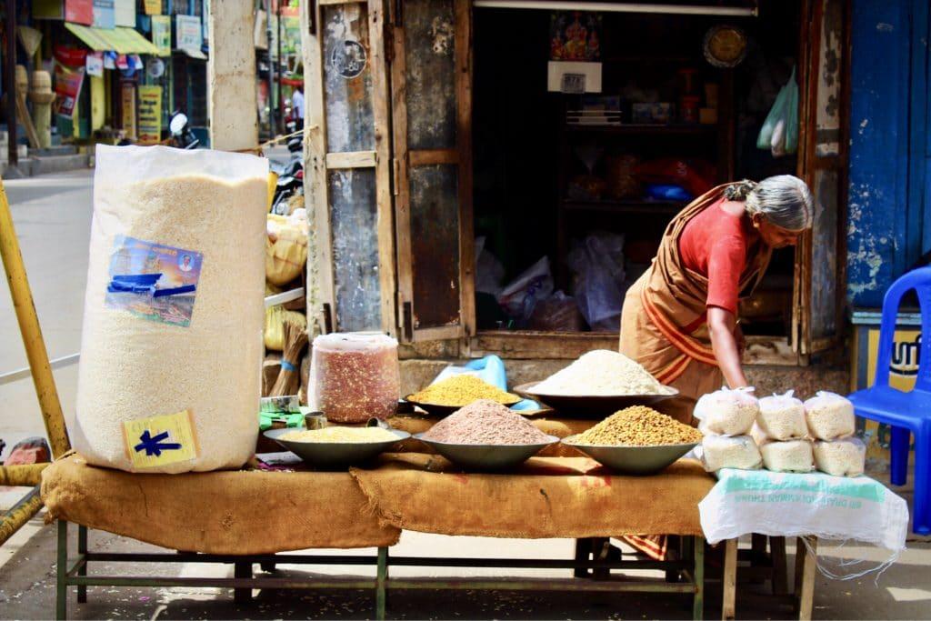 La route de l'inde et les épices