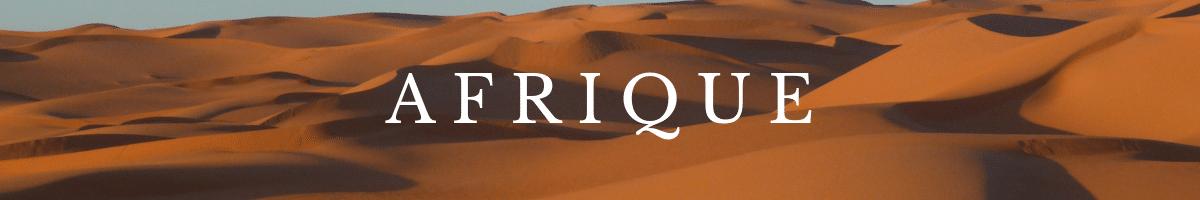 guide de voyage AFRIQUE