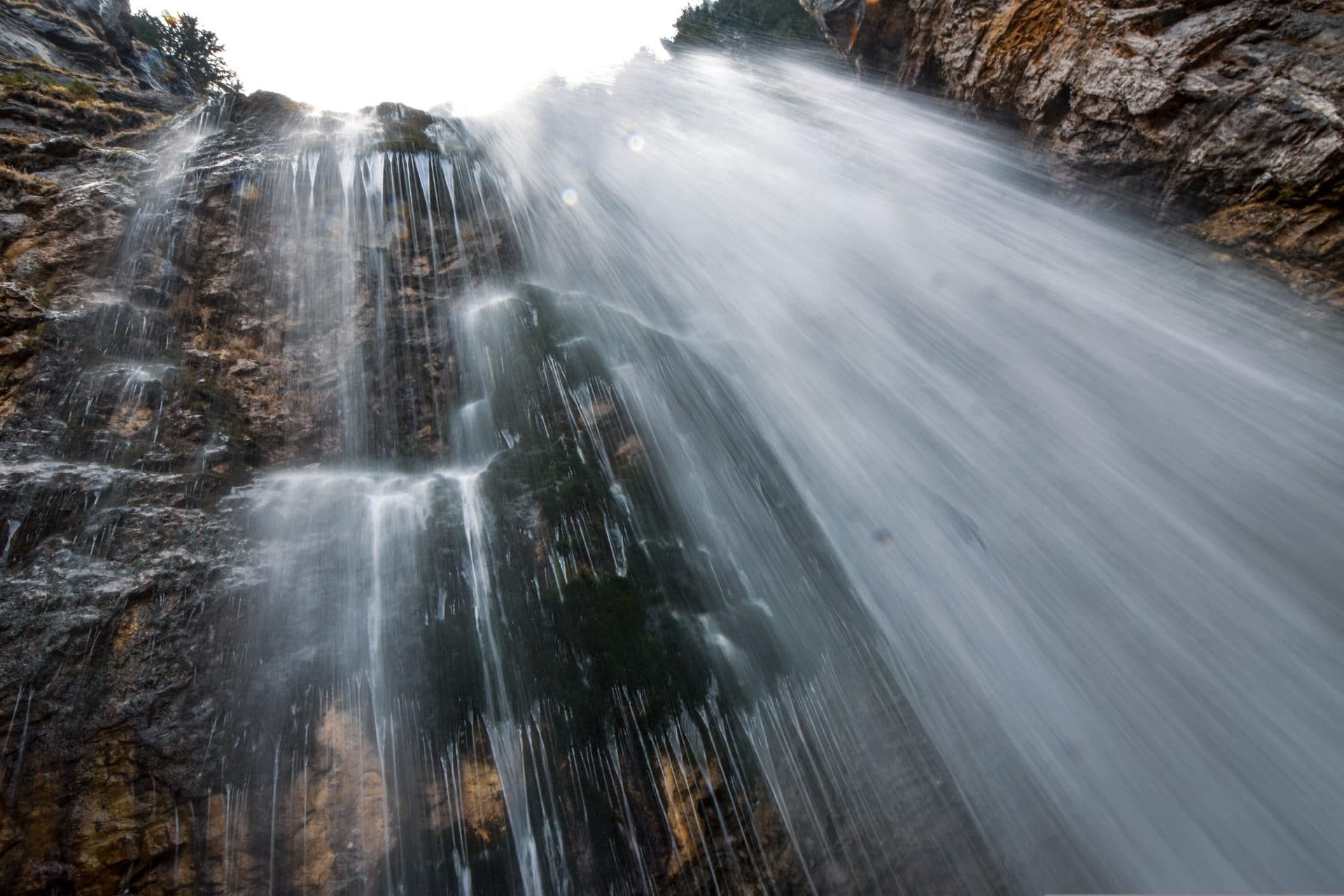 la cascade des sources