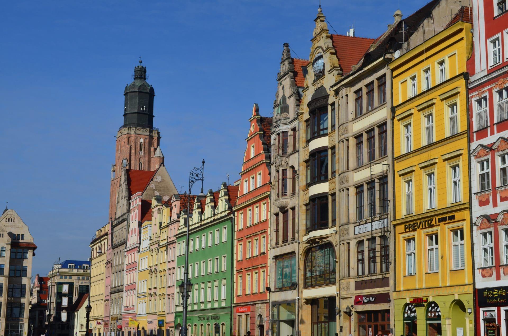Wroclaw architecture