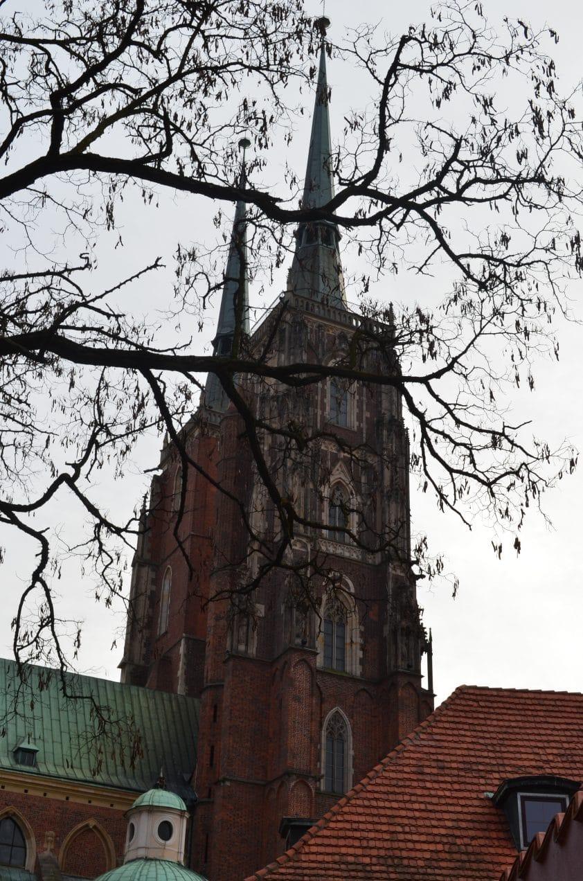 Cathédrale Saint-Jean-Baptiste de Wrocław road trip pologne