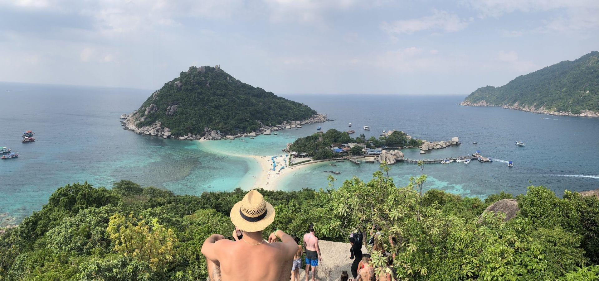 Koh Nanghjuan road trip thailande