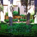 le jardin de Daraxa alhambra