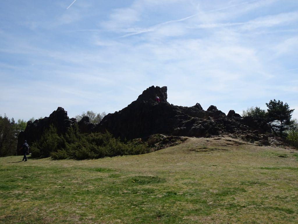 Randonnée des Rochers de Eschbach, dans le Taunus, près de Francfort