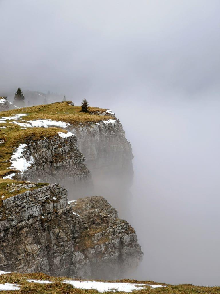 montée jusqu'au mont d'or Randonnée Jura