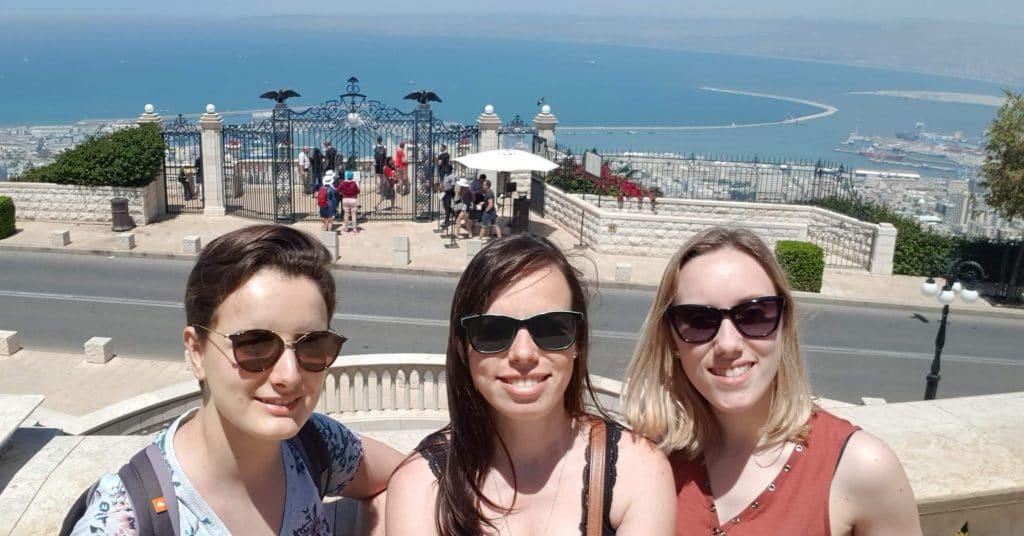 voyage en Israel entre copine
