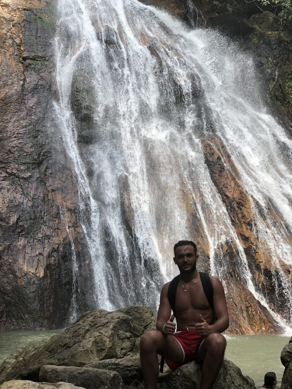 Namuang Waterfall Samui road trip thailande