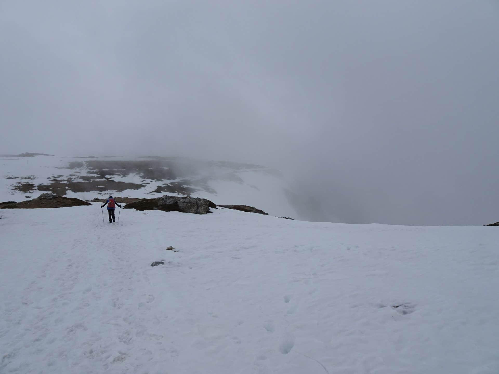 randonnée neige 7 lacs
