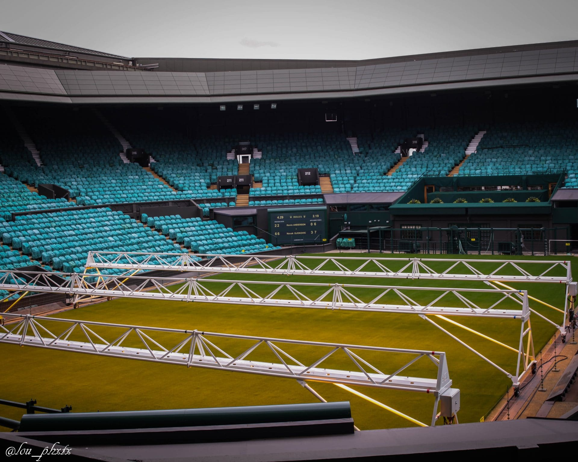 Wimbledon tennis court voyage scolaire angleterre