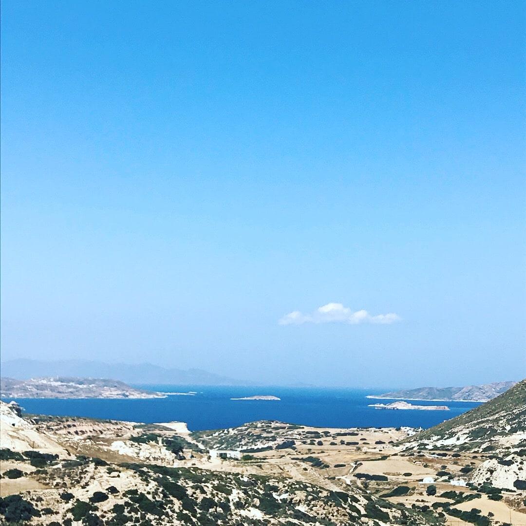Baie de Pollonia en Grèce