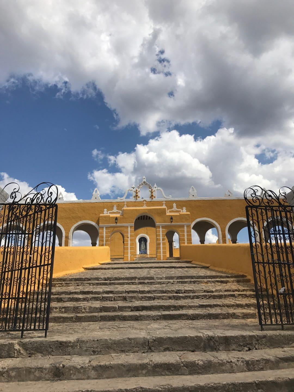 couvent de Izamal road trip yucatan