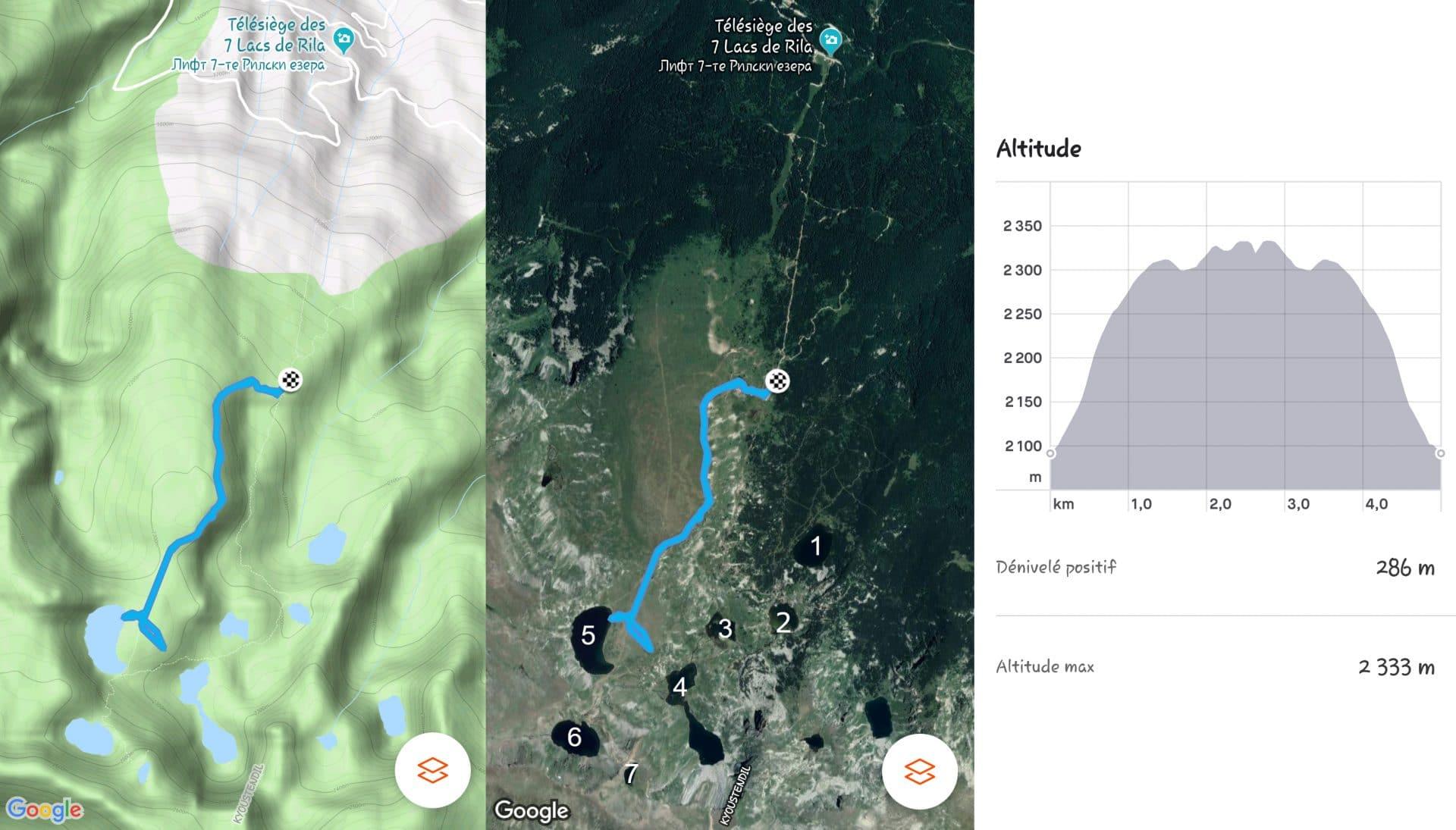 itinéraire et dénivelé randonnée 7 lacs Rila Bulgarie.jpg