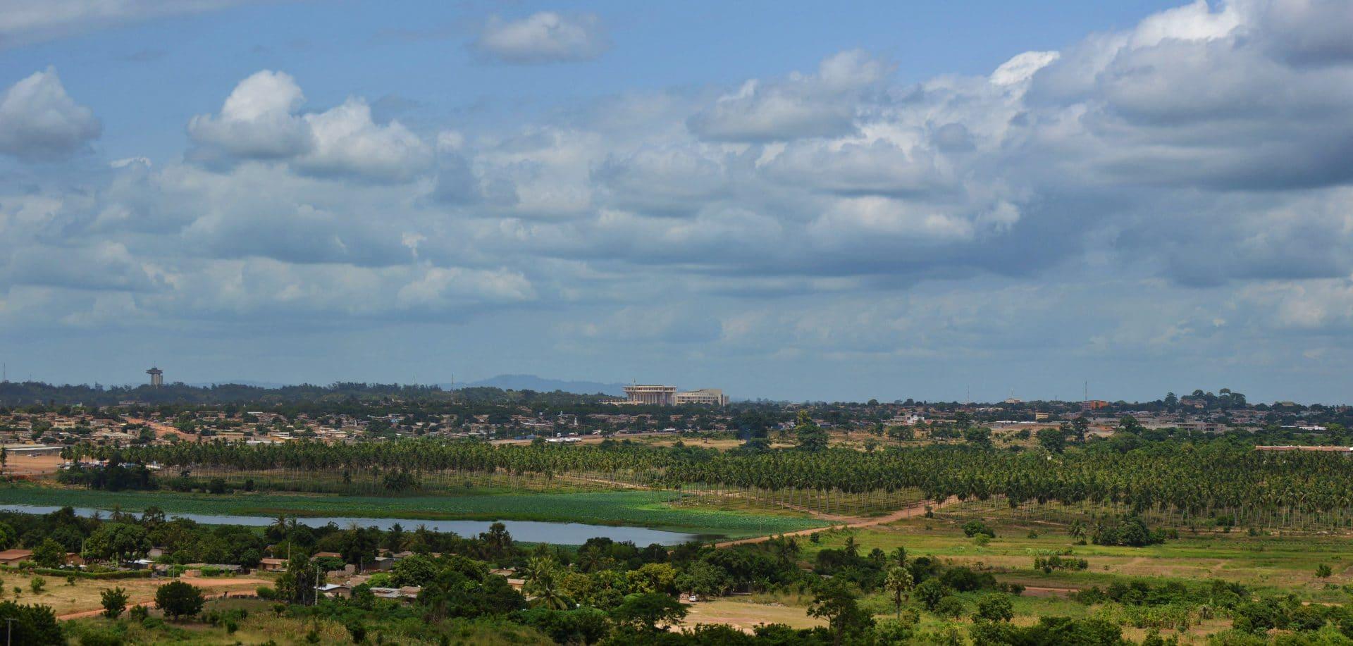 Yamoussoukro paysage