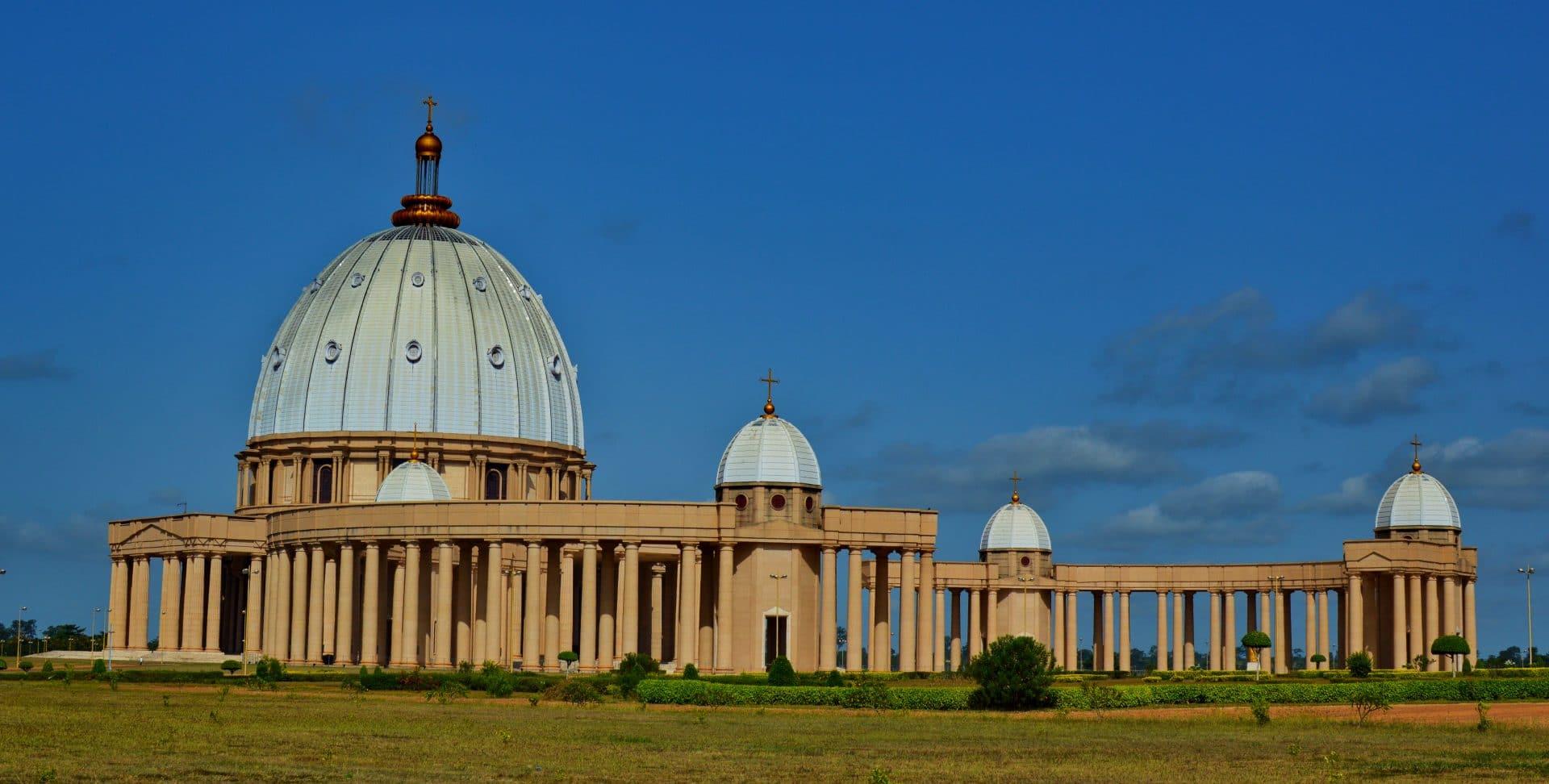 basilique Notre Dame de la Paix yamoussoukro