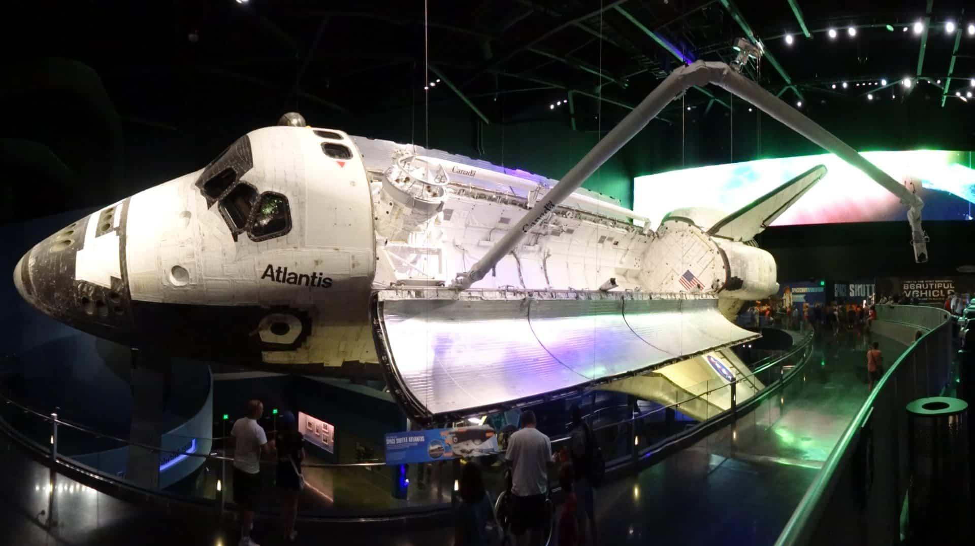fusée atlantie Kennedy Space Center road trip floride