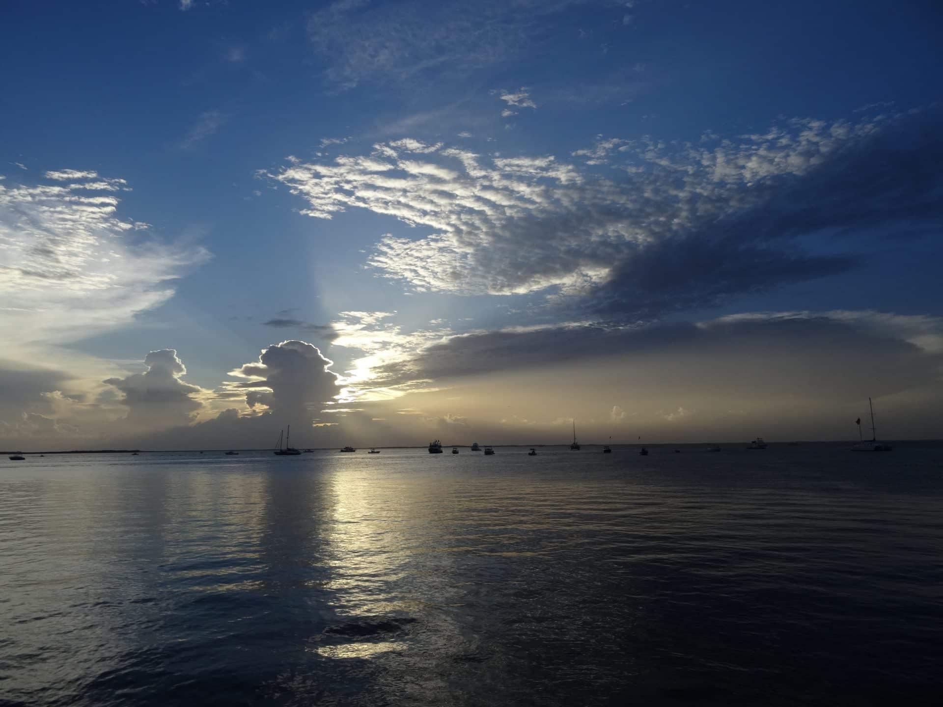 sunset keylargo