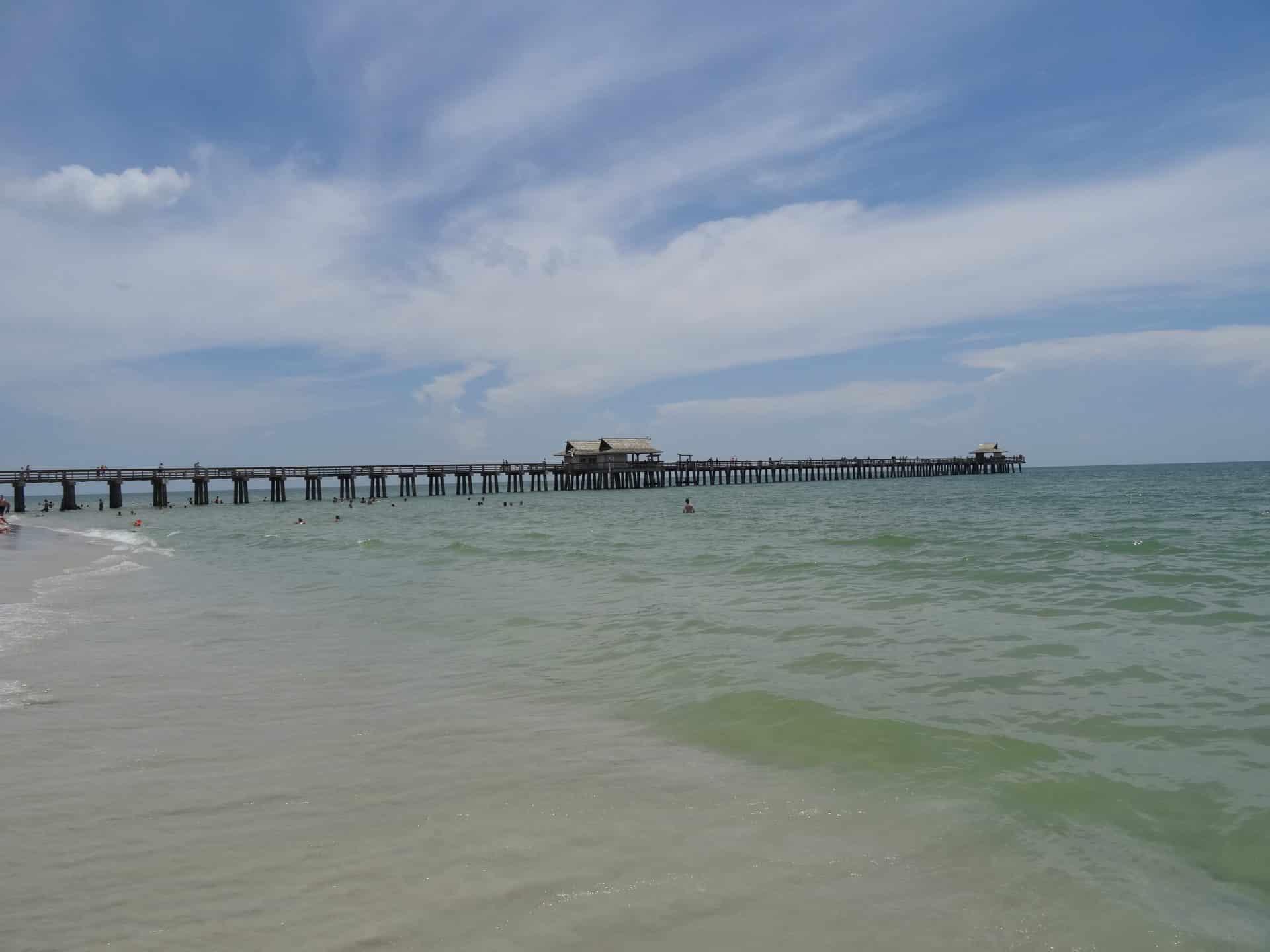 La plage de Naples road trip Floride