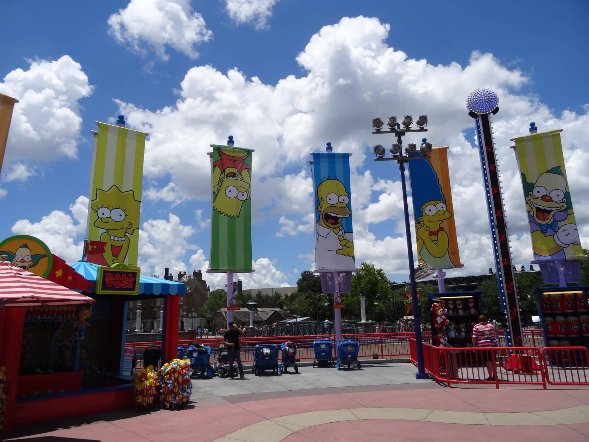 Le Parc Universal Studios road trip Floride