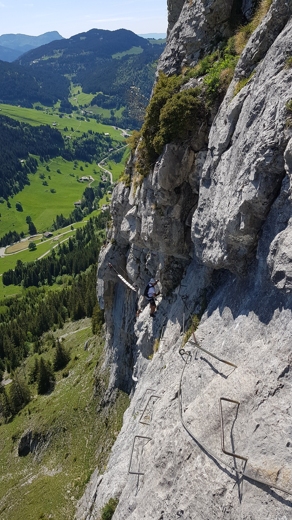 Via Ferrata la clusaz