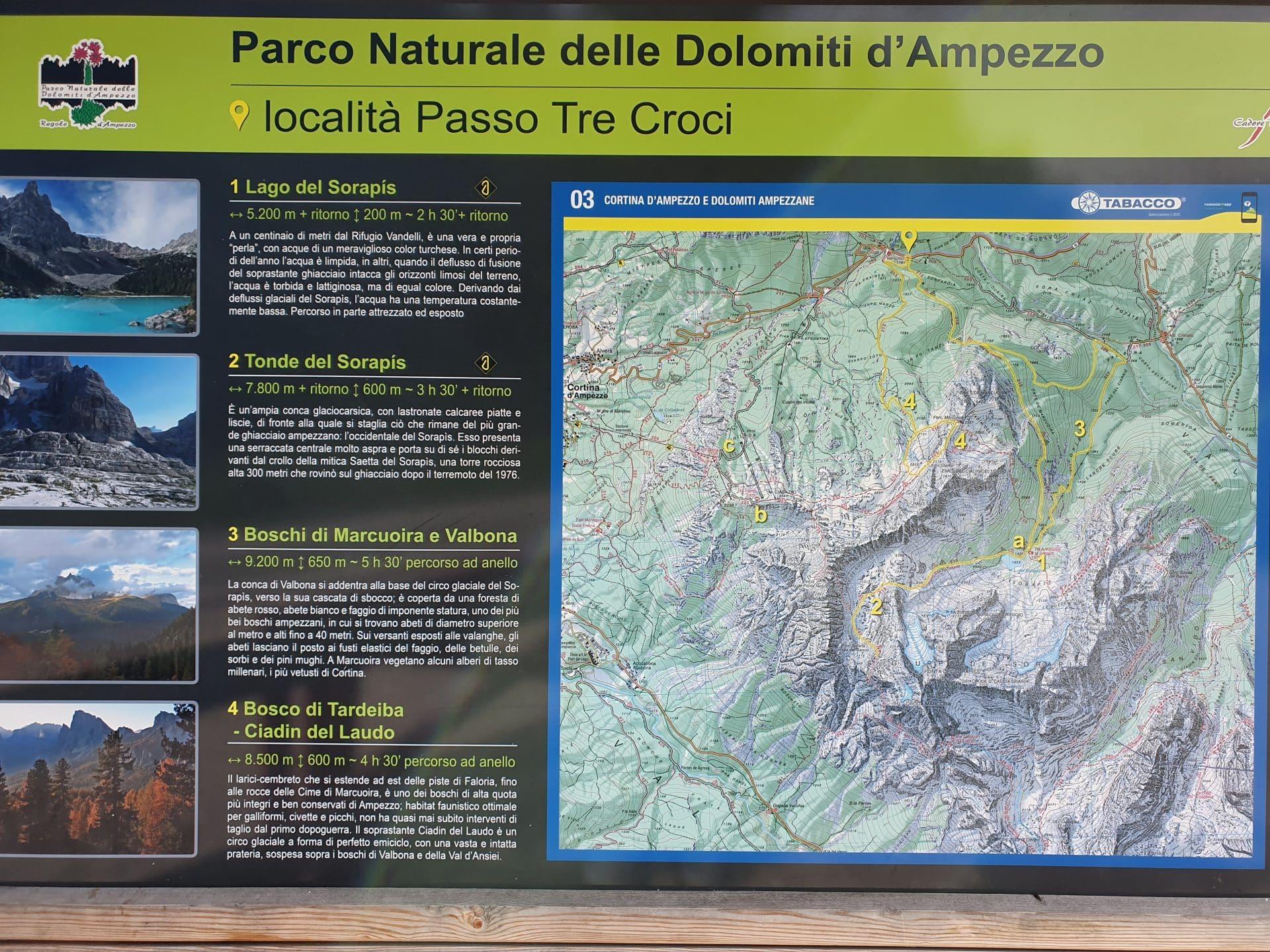 panneau-lago-del-sorapis